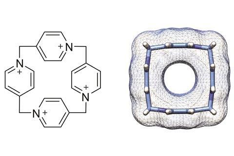 Pillar[4]pyridinium